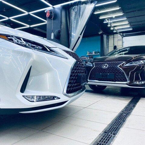 Оклейка двух новеньких Lexus Rx 300