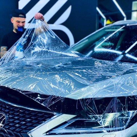 Оклейка Зоны риска на Lexus RX