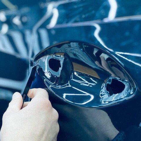 Оклейка в круг Lexus RX 350