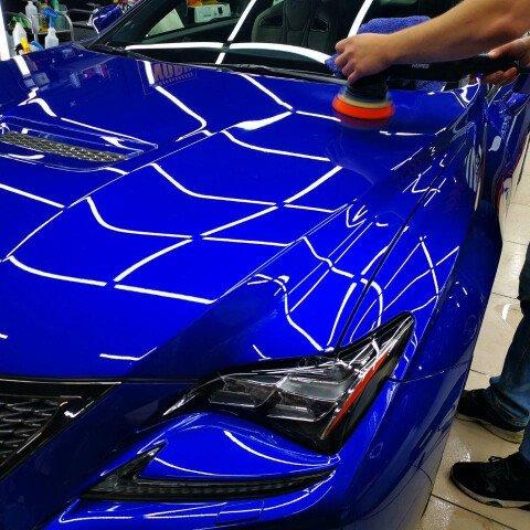 Детейлинг-полировка + 2 слоя керамики Lexus RC F
