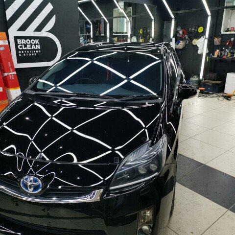 Детейлинг-полировка + 2 слоя керамики Toyota Prius