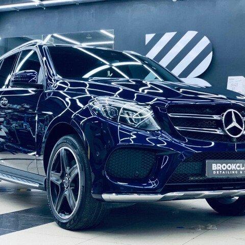 Детейлинг-полировка + 2 слоя керамики, антидождь Mercedes GLE