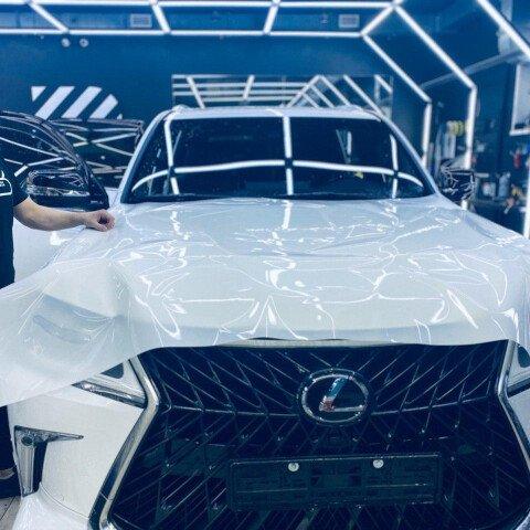 Оклейка в круг Lexus LX 570